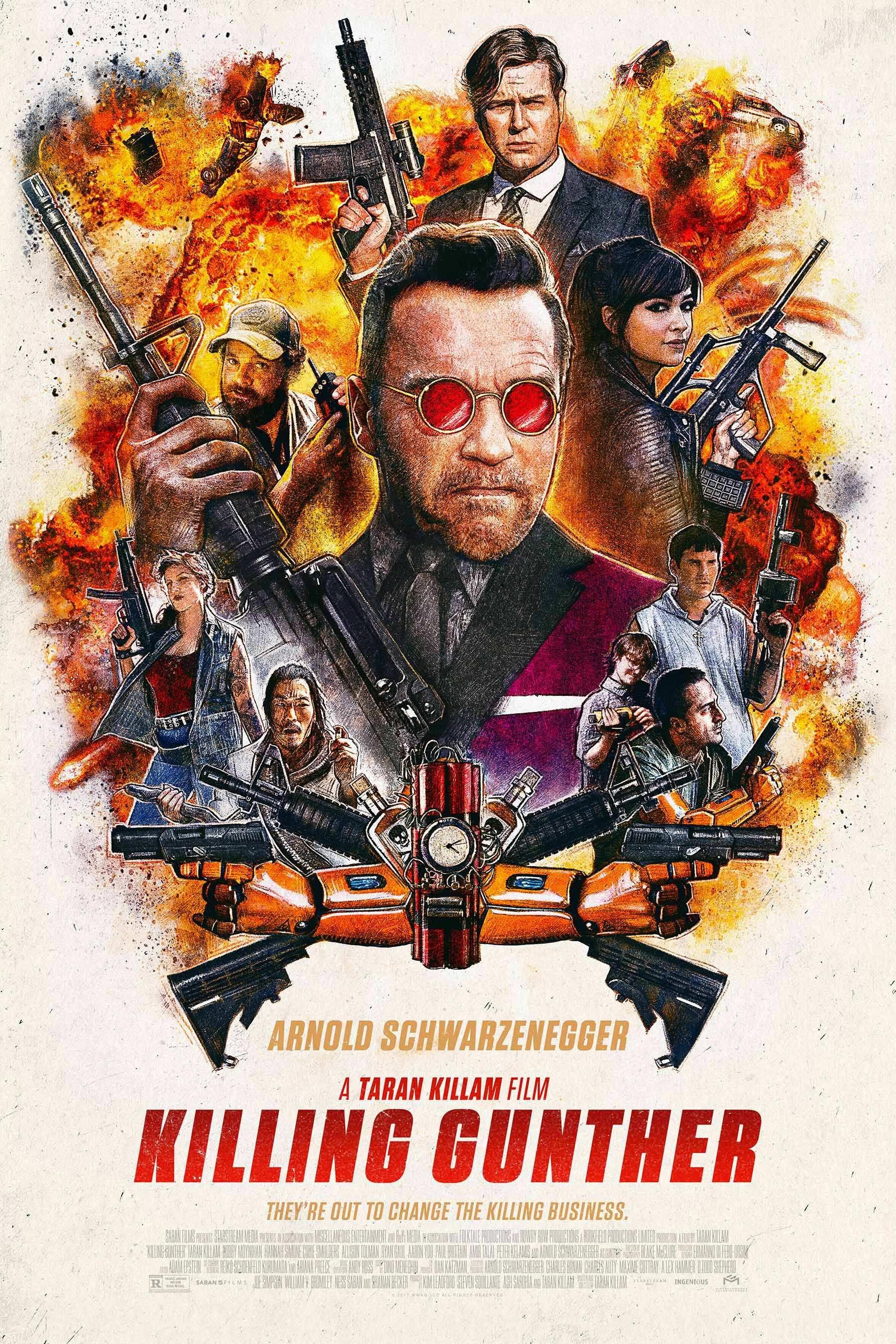 The Mockumenary Killing Gunther Pits Assassins Against Arnold Schwarzenegger