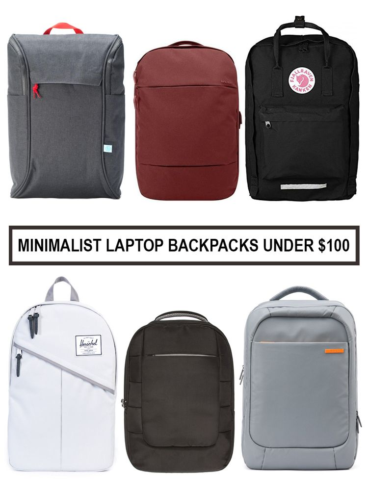 1016ee5896d Top Picks for Minimalist Laptop Backpacks under $100   Find out which  backpacks made the list