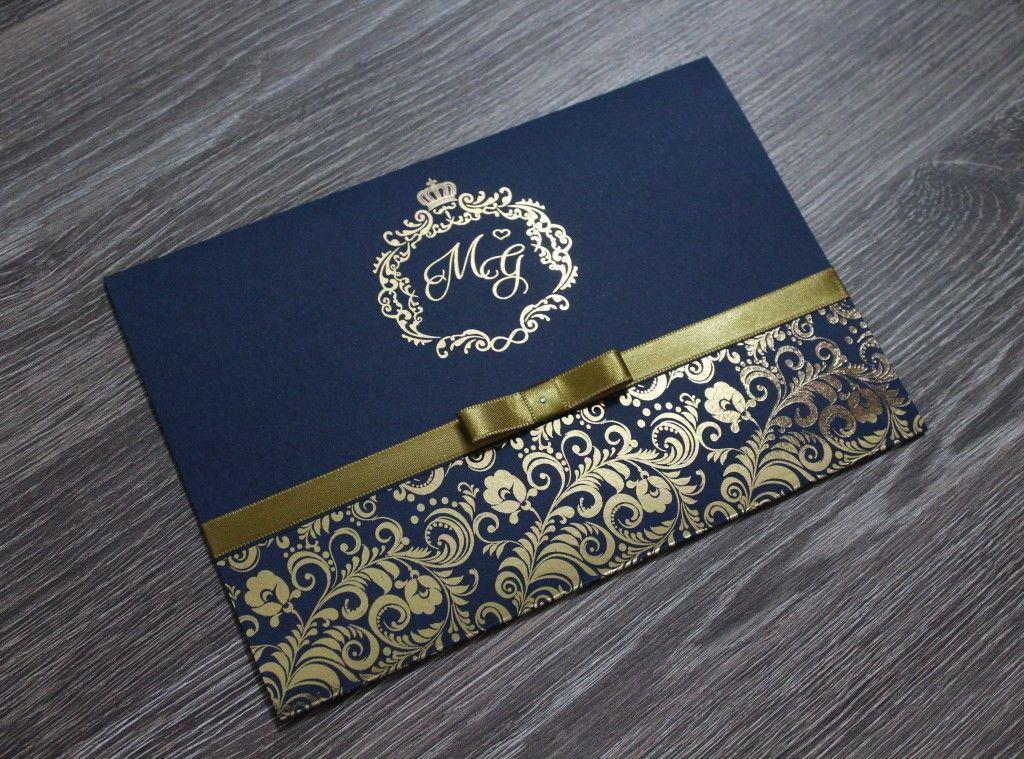 Convite De Casamento Hot Stamping Glamour Convites Elo7