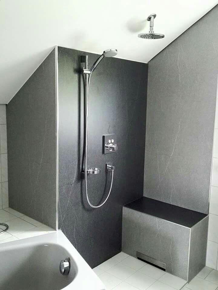 Pin Von Kristhal Glasduschen Dusch Auf Wandverkleidung Hpl Wandverkleidung Dusche Verkleidung