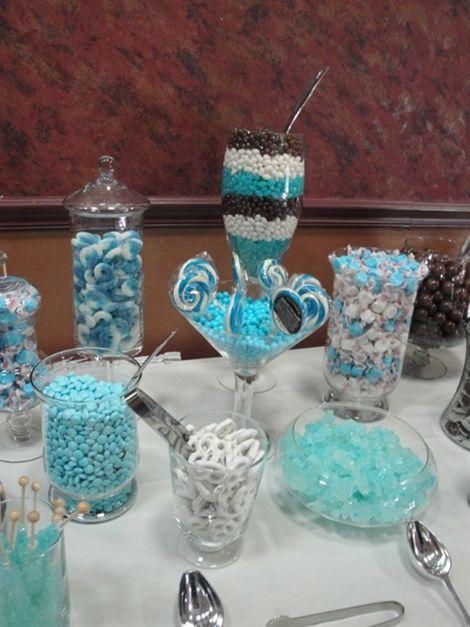 Baby Boy Shower Candy Buffet Ideas!