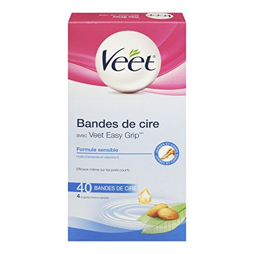 Veet Leg And Body Hair Remover Cold Wax Strips 40 Count Veet Http