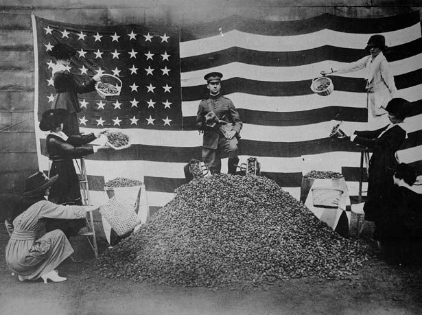 What America Looked Like: Collecting Peach Pits for WWI Gas Masks ...