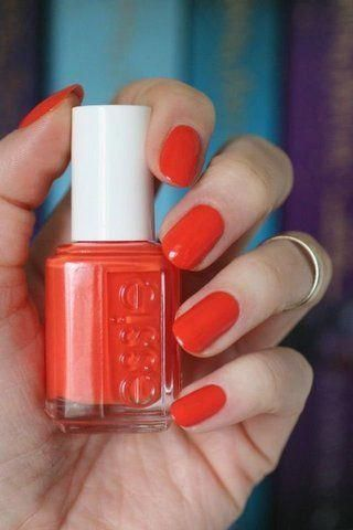Photo of Oransje neglelakk #orangenails
