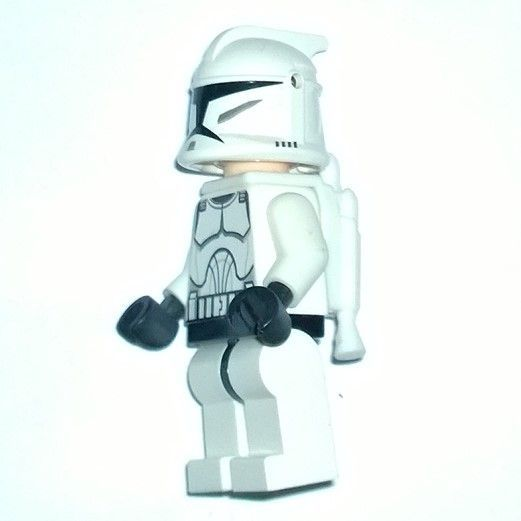 Figure 8 Cars For Sale: ITEM LEGO Star Wars Clone Jet Trooper Minifigure