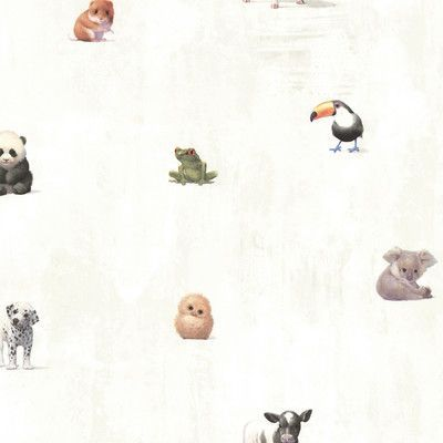 Zoomie Kids Meltzer Animal Alphabet 33 X 20 5 Wildlife 3d