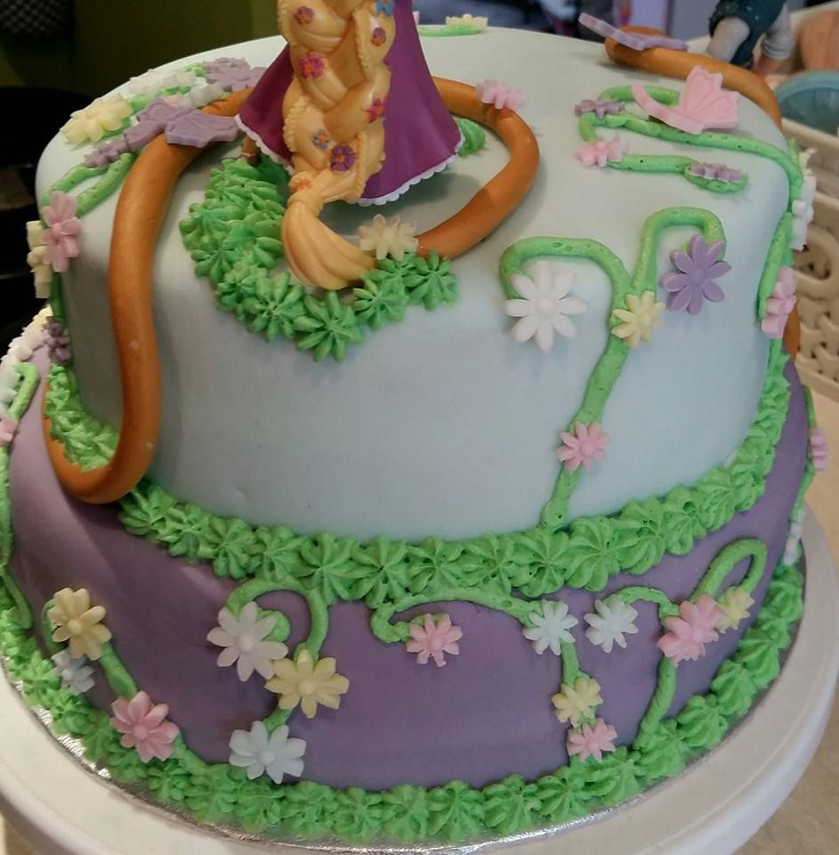 Tangled Princess Birthday Cake