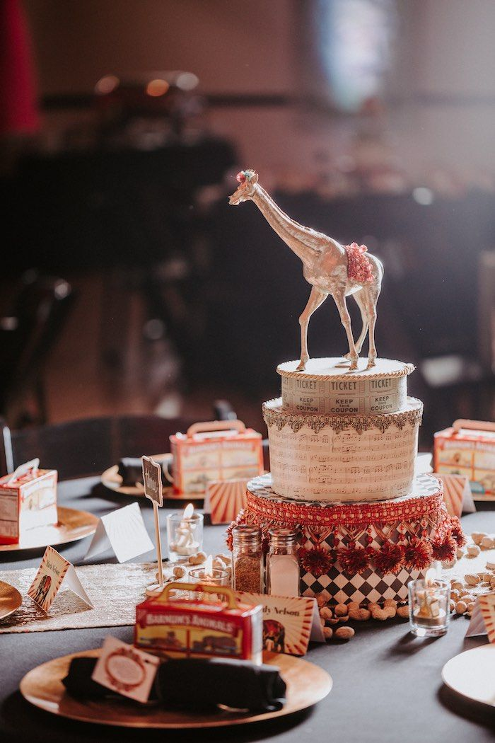 The Greatest Showman Inspired Circus Party | Awesome Party ...
