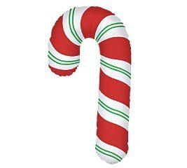 RED and Green Christmas Candy Cane 41