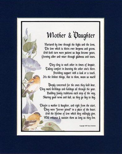 Poems From A Mother To Her Daughter 1
