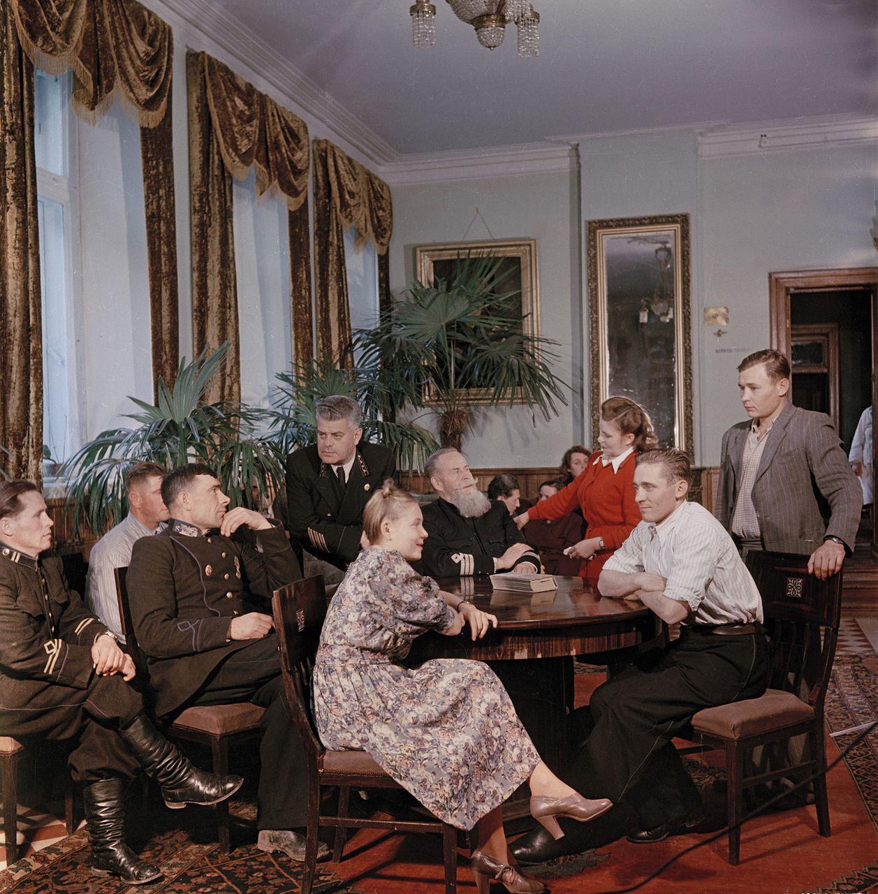 Подмосковный санаторий угольщиков, 1951