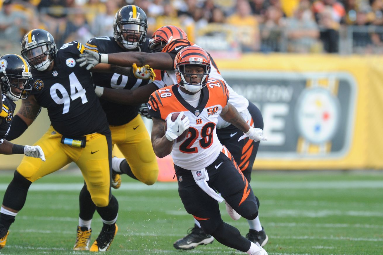 Primer Bengals vs Steelers stats and facts Nfl week