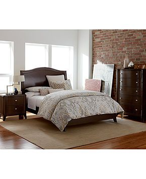Nason 3 Piece Set: full bed, nightstand, and chest - Furniture - Macy's