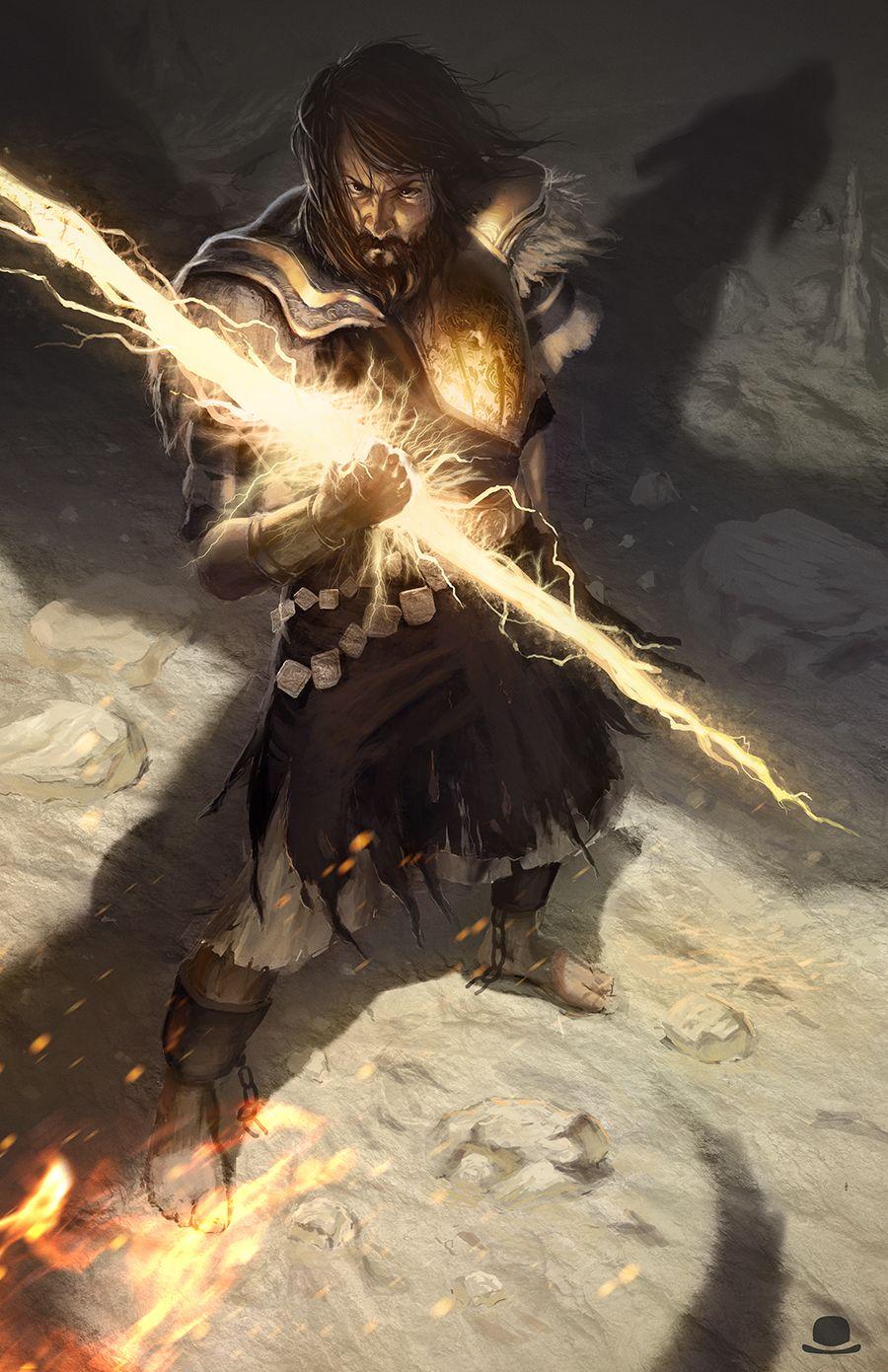 lightning weapon reference...  Lord of Sunlight by sstarkm.deviantart.com on @deviantART