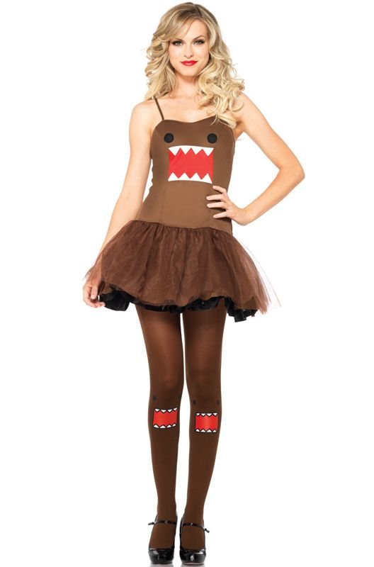 Domo Dress Adult Costume Halloween Costumes Cosplay Puresexy Dancers