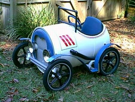 Upcycle A Plastic Barrel Into A Fantastic Pedal Car. Be Sure To View All  The Mos And Check Out The Plastic Barrel Train Too!