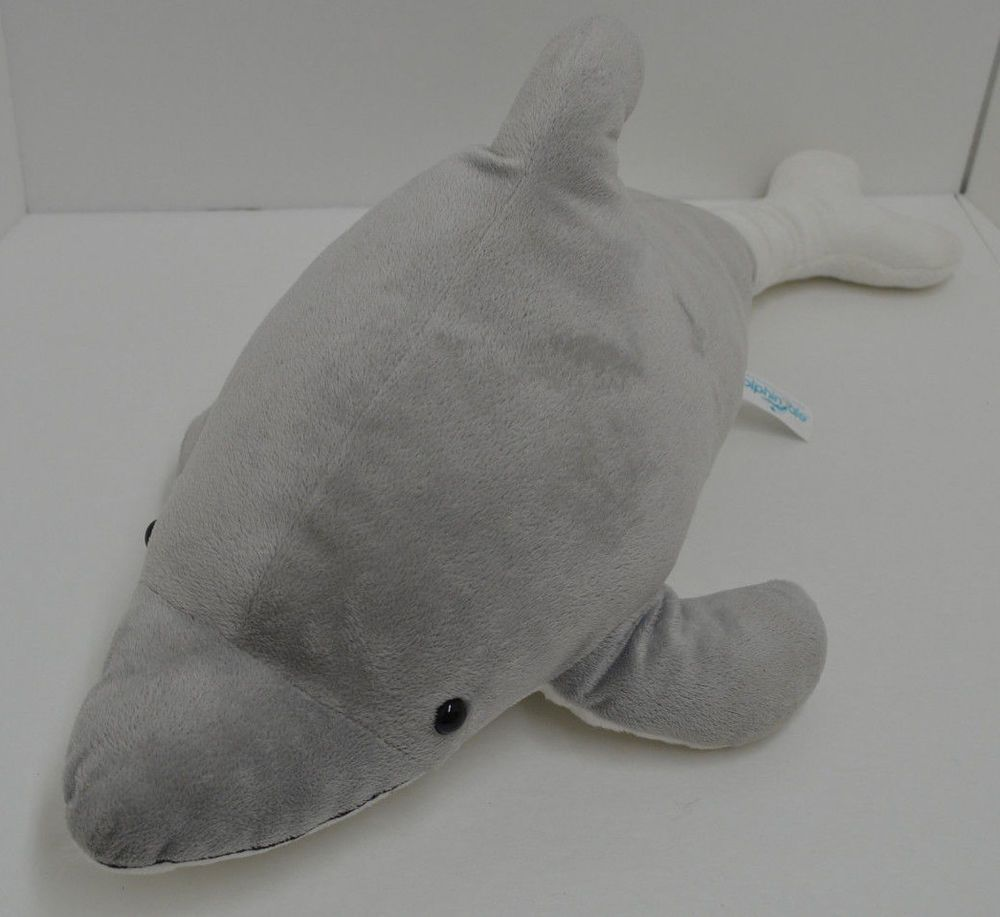 Winter Dolphin Tale Plush Gray Prosthetic Tail Stuffed Animal Movie