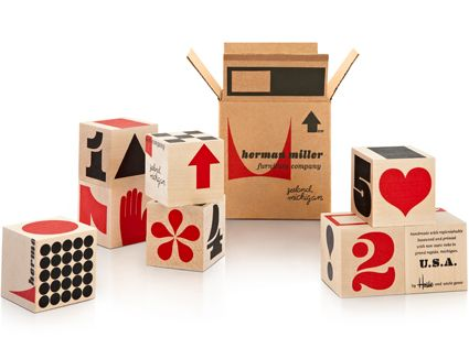 Herman Miller Shipping Blocks This Miniature