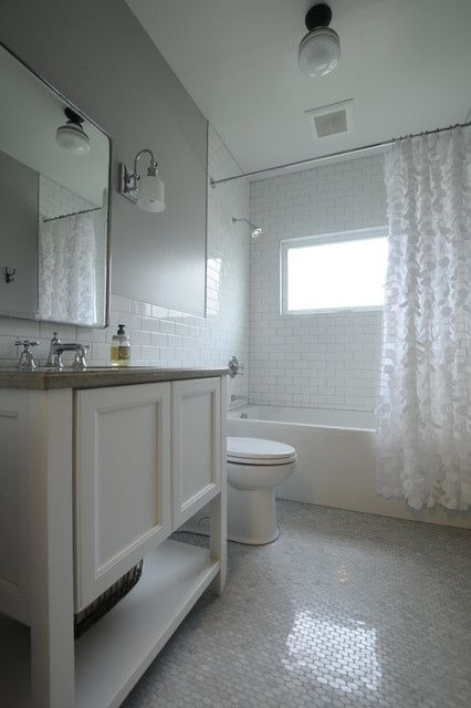 panasonic fv-11vq5 Bathroom Traditional with 6' tub 6x9 ...