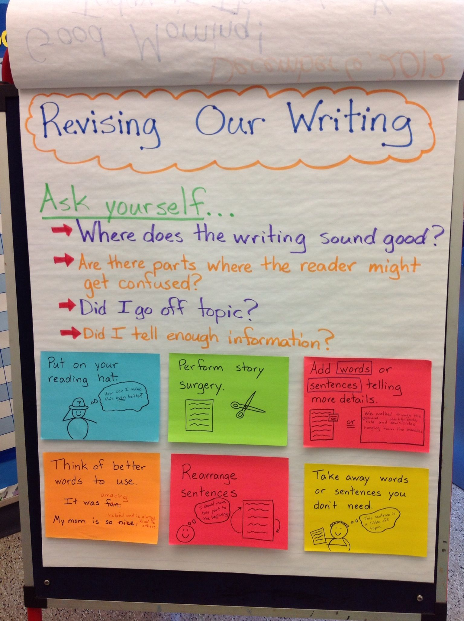 Revising Our Writing