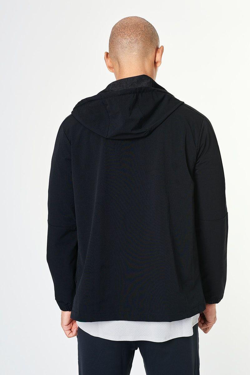 Download Download Premium Illustration Of Man In A Black Hoodie Mockup Psd 2596752 Hoodie Mockup Clothing Mockup Black Hoodie