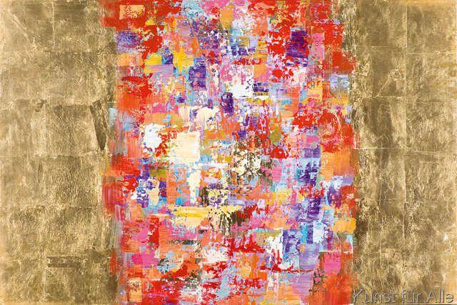 New+Life+Collection+-+Farbentraum+auf+goldenem+Grund