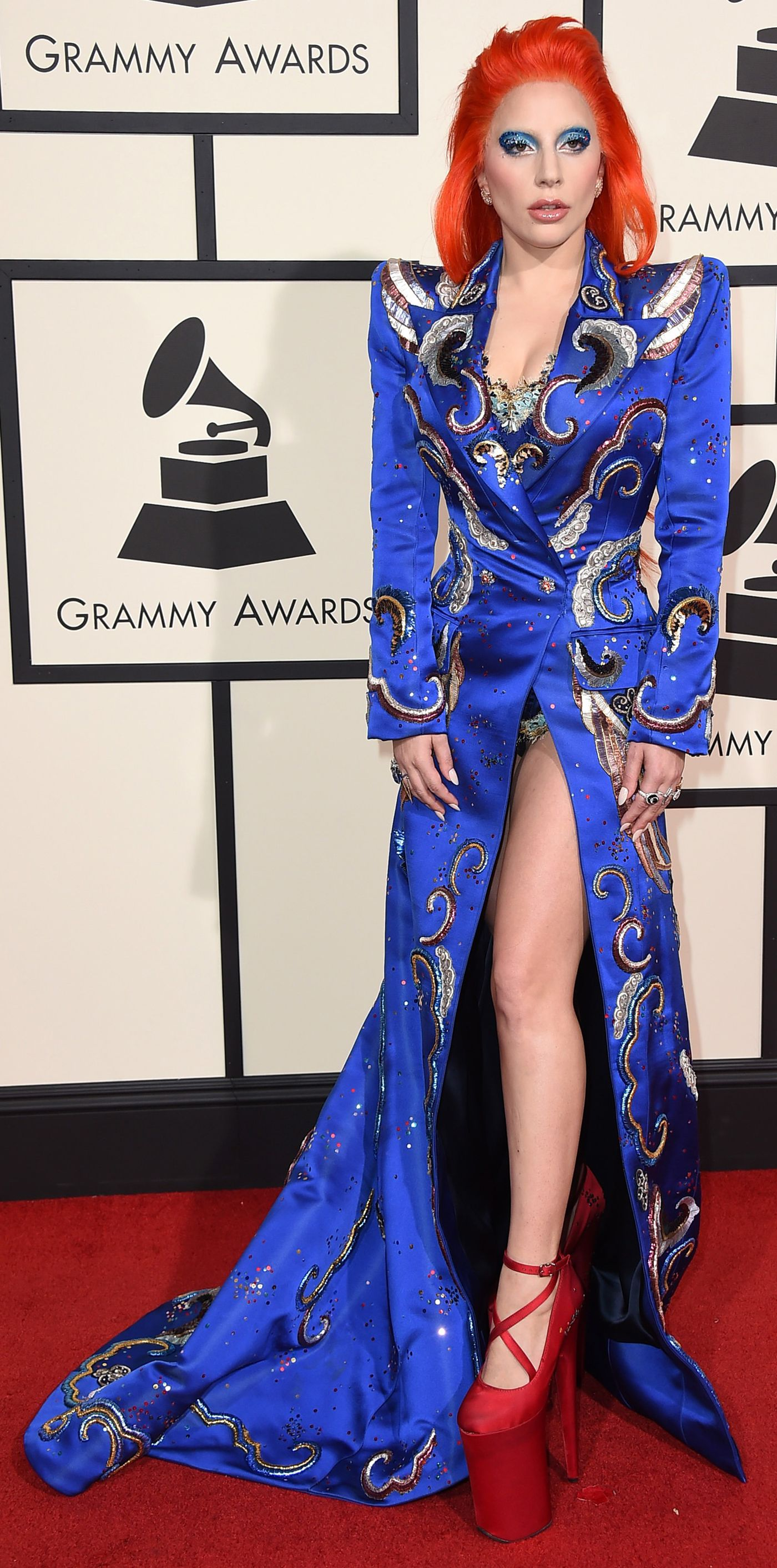 From 1995 to Now The Riskiest Grammy Gowns Lady gaga