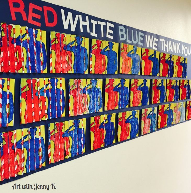 Patriotic Art Project for kids
