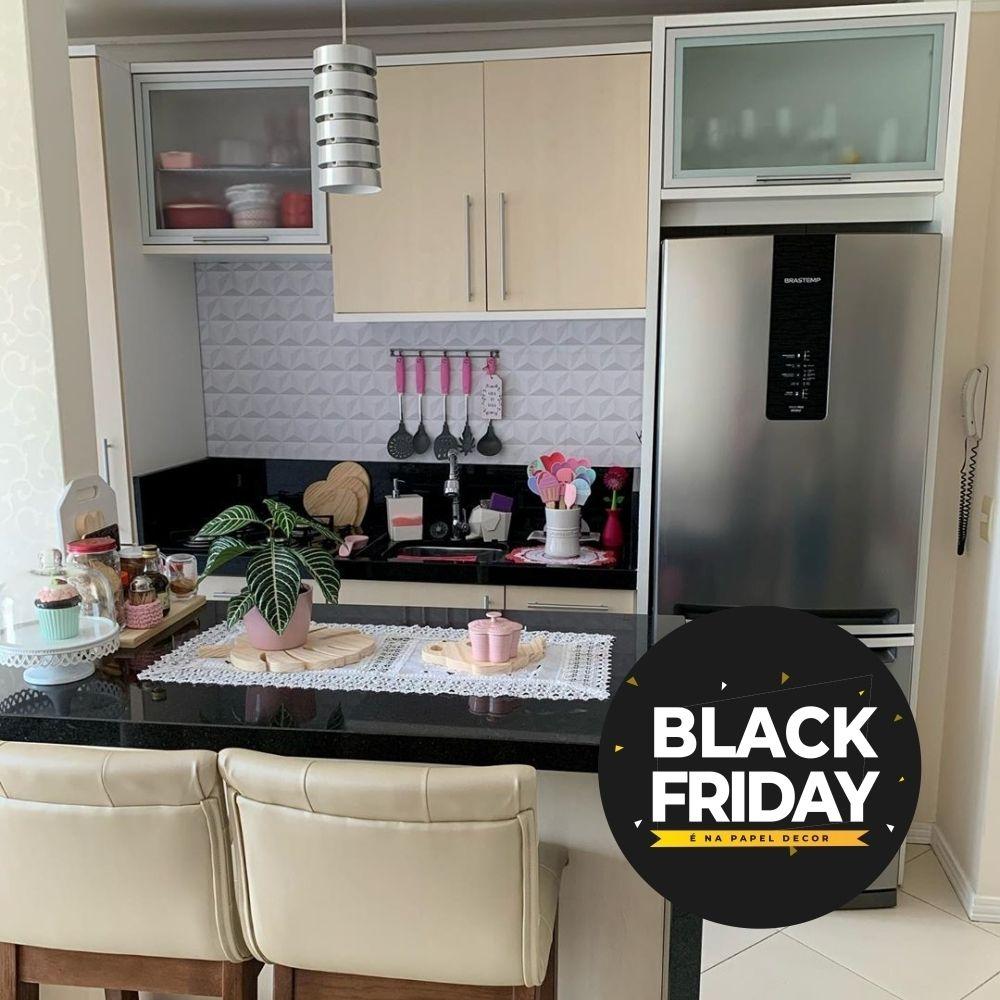 Que Tal Aproveitar A Nossa Blackfriday Para Renovar O Decor Da Sua Cozinha Na Promocao Atual Voce Compra 6 Rolos E So Paga 5 Kitchen Decor Kitchen Cabinets