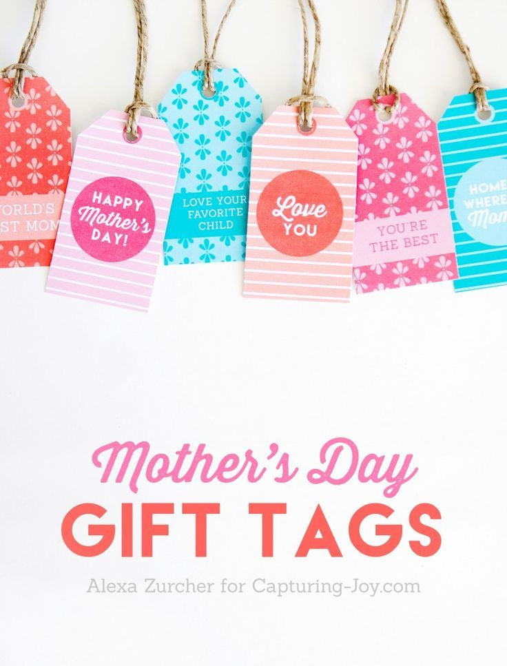 image regarding Free Printable Mothers Day Tags referred to as Printable Moms Working day Reward Tags Cost-free Moms Working day