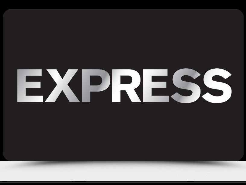Express preowned gift card 25 15 off us mail