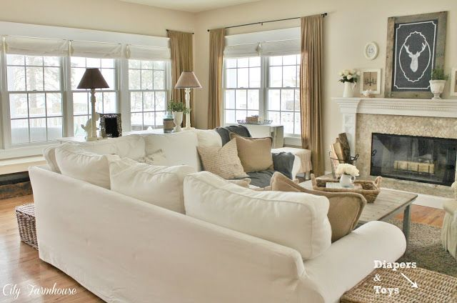 Photo of Family Room Reveal-Thrifty, Pretty & Functional – City Farmhouse