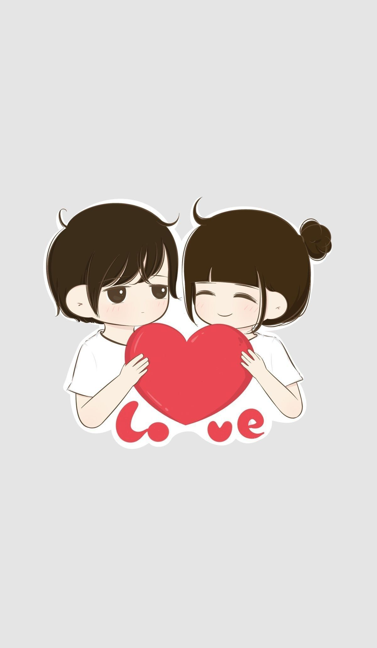 Love Wallpaper Couple Anime Terpisah