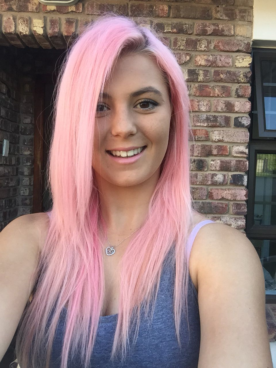 Pastel Pink Bubblegum Pink Candy Floss Pink Hair Crazy Color Candy
