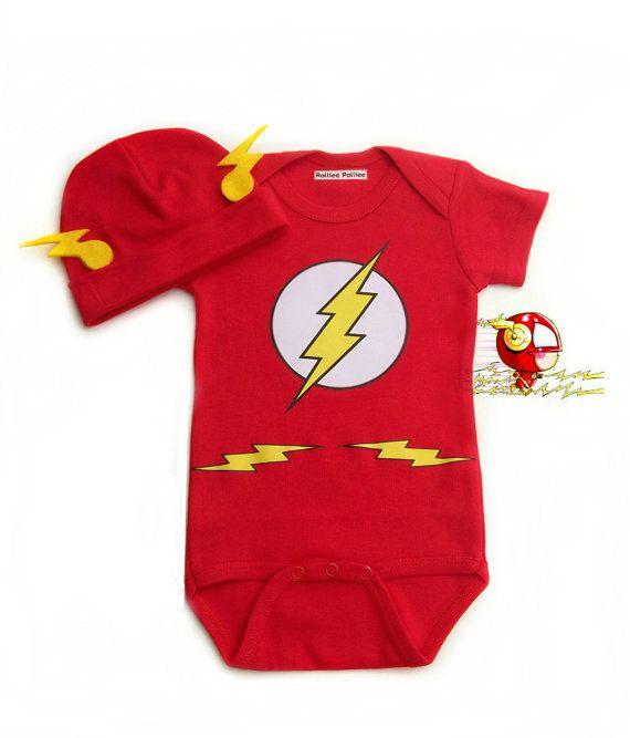 Flash Baby Costume Super Hero