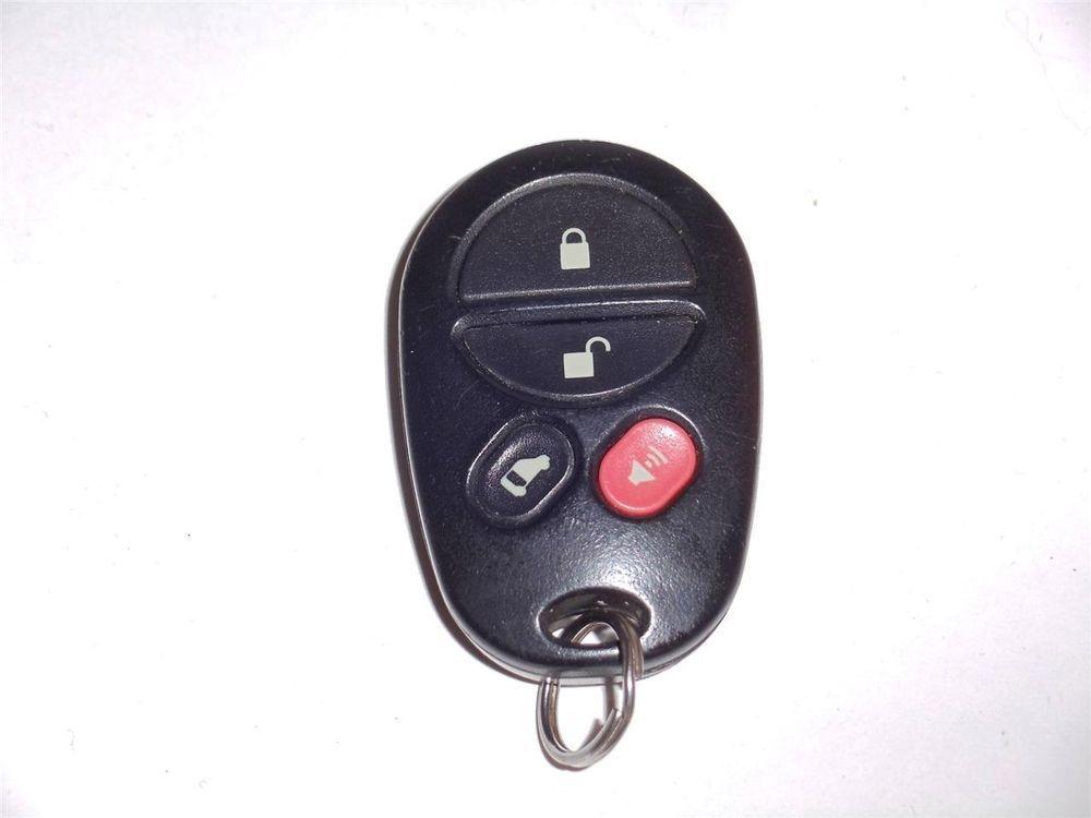 Toyota Remote Key Keyless Entry Three Function Keyslockunlocktrunk