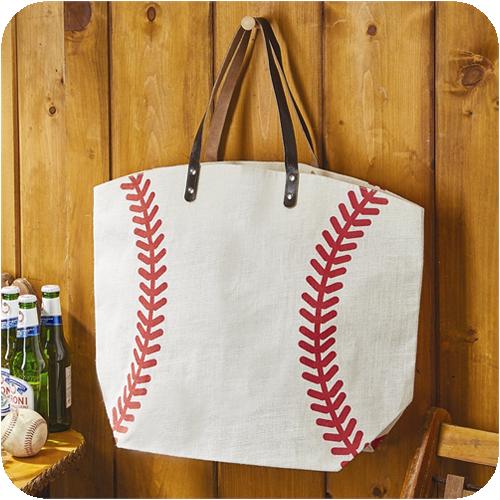 5f9a369df807 Jute+Baseball+Totebag | Summer Projects | Pinterest | Baseball, Bags ...