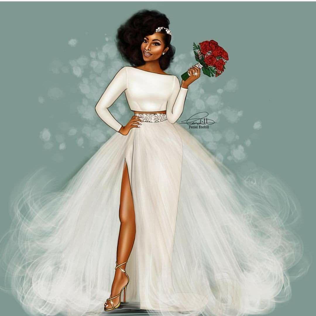 Excelente Africano Americano Diseñadores Del Vestido De Boda Fotos ...