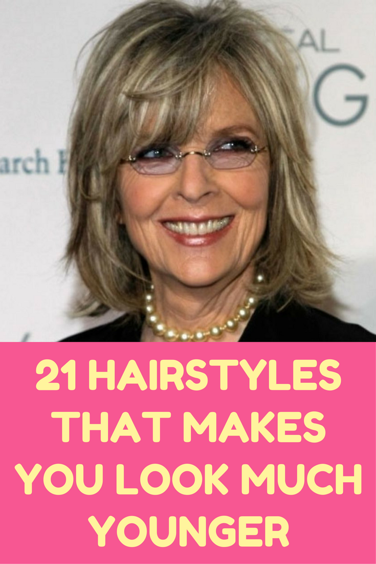 hairstyles thatull make you look years younger slideshow