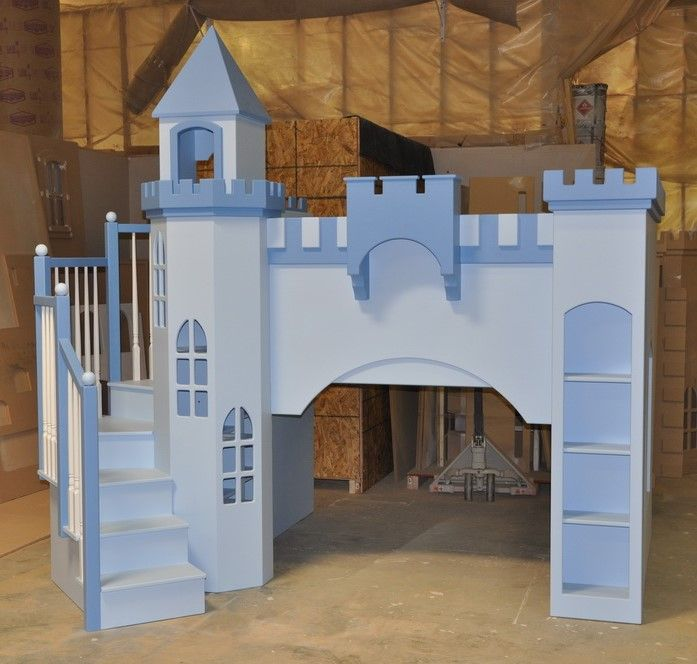 Leeds Castle Bunk Bed Designed And Custom Built By Tanglewood Design Bunk Beds With Stairs Kid Beds Safe Bunk Beds