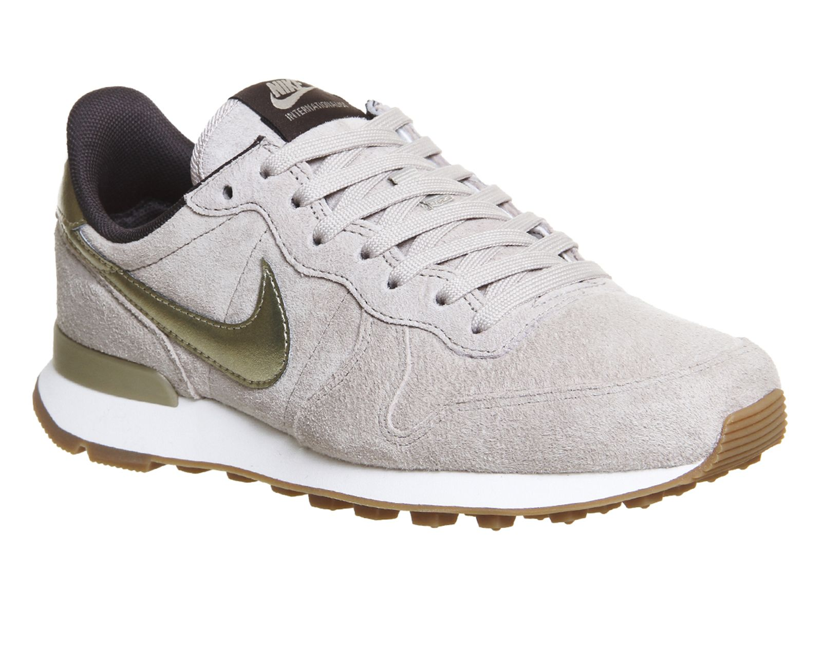 new concept 29c30 3fa90 Buy String Metallic Gold Grain Nike Nike Internationalist (w) from  OFFICE.co.uk.