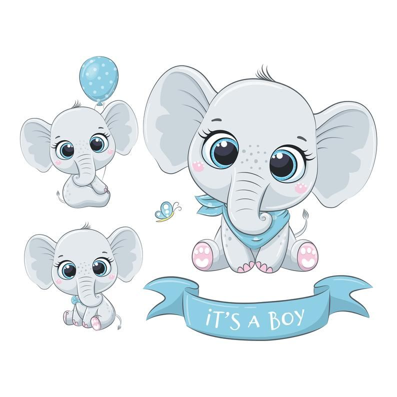Elephant Baby Shower Clipart Png Jpeg Eps Elephant Baby Boy It S A Boy Nursery Clipart Baby Shower Clipart Elephant Clip Art Baby Elephant