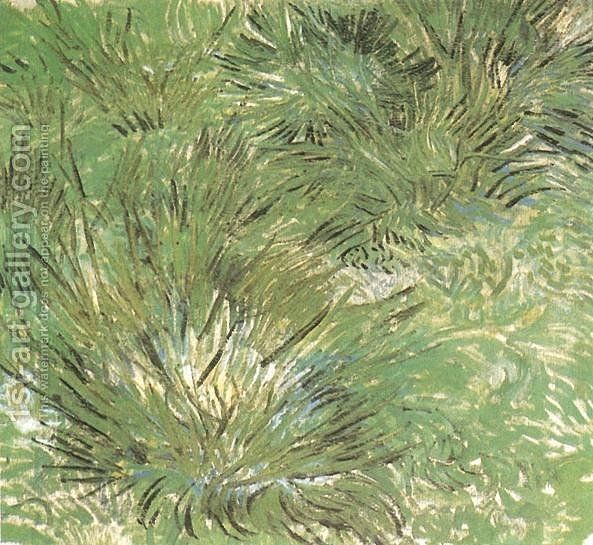 Touffes d'herbe 1889 Vincent Van Gogh Reproduction | 1st Art Gallery
