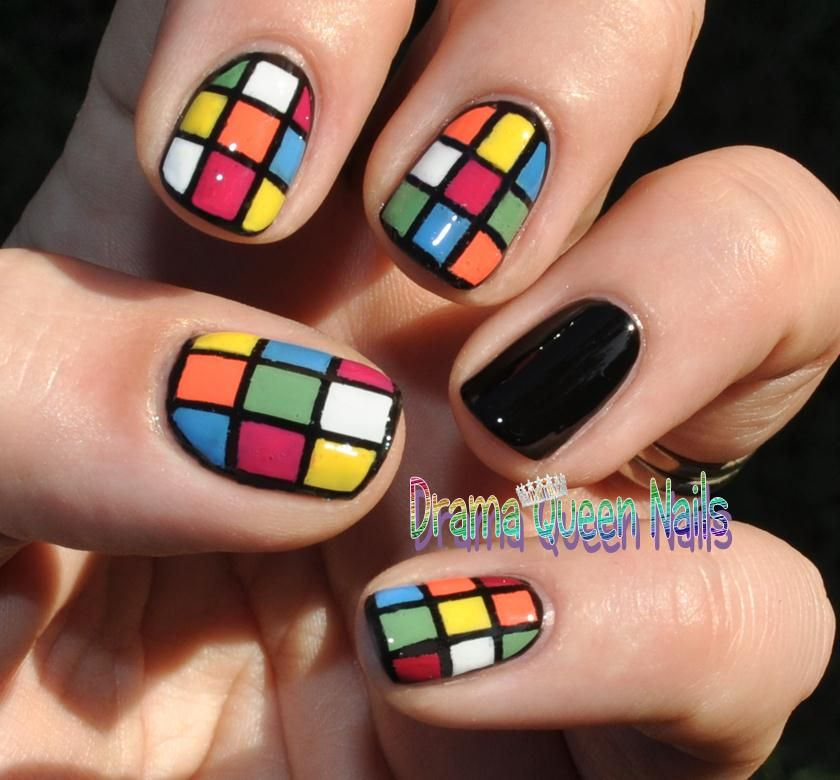Drama Queen Nails: Puzzle your friends with your amazing nails ...