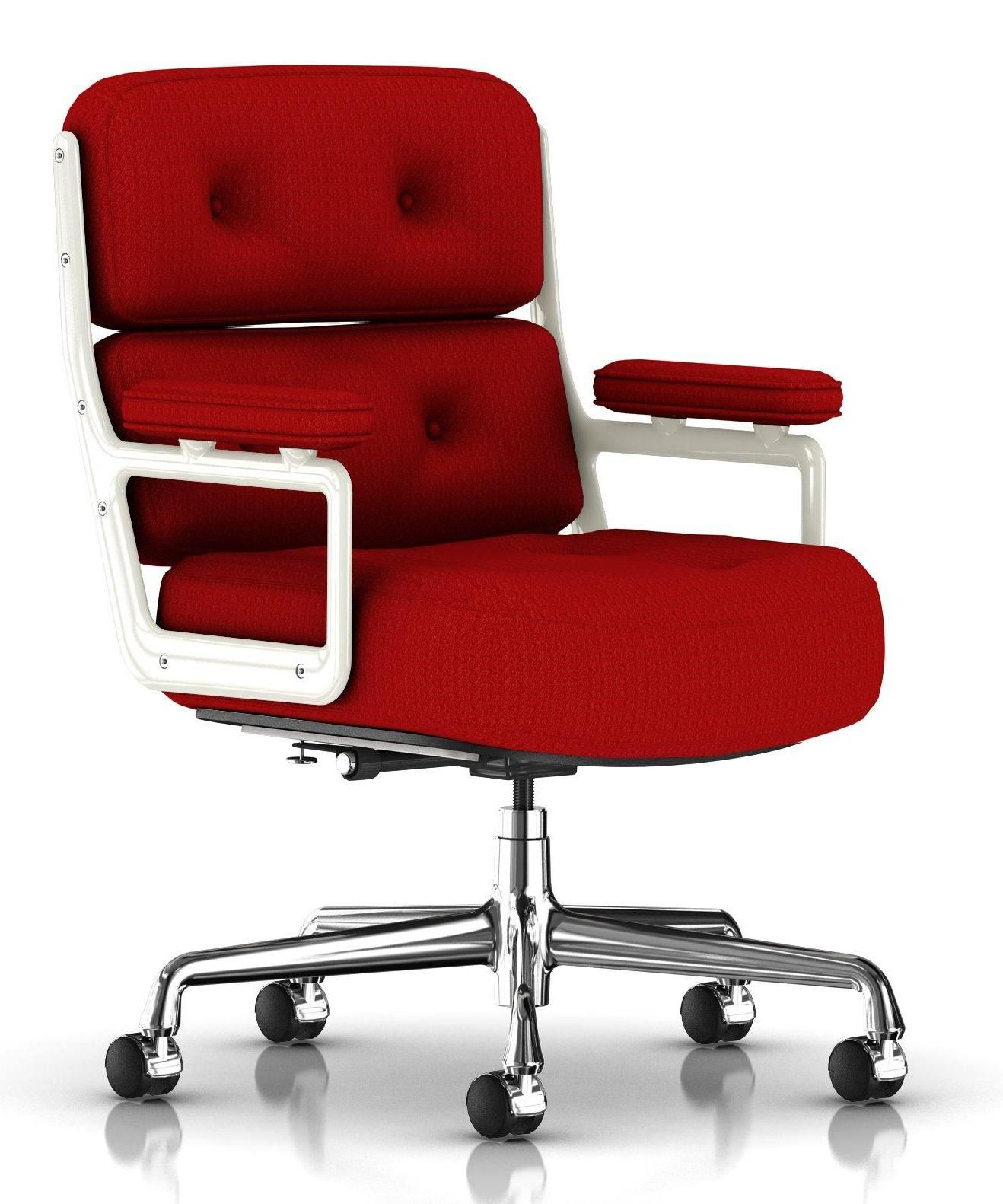 Eames executive chair red 249x300 the color of love perfectly sewn our take on valentines