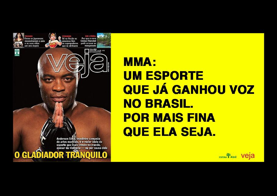 MMA: Um esporte que já ganhou voz no Brasil. Por mais fina que seja.