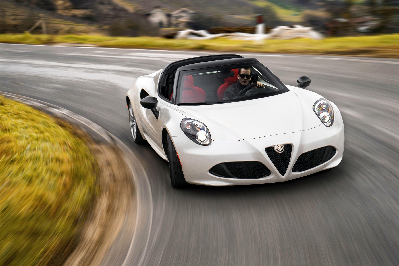 2015 Alfa Romeo 4c Spider Pinterest Dream Cars And