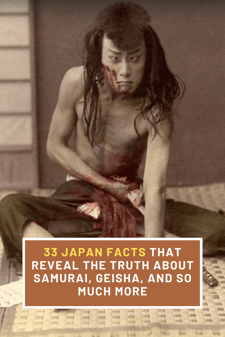 """Best Funny Facts 33 Japan Facts That Reveal The Truth About Samurai, Geisha, And So Much More Whether it's Godzilla's citizenship or the unexpected origins of geishas, these interesting facts about Japan shine a light on the """"Land of the Rising Sun."""" 2"""