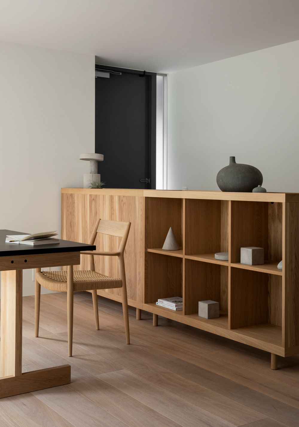 Take a Peek at This Stunning Minimal Residence Rooted in Japanese and Scandinavian Design Traditions - Nordic Design