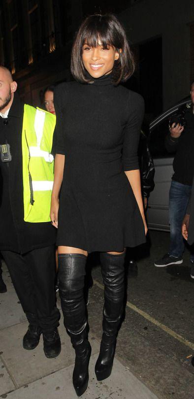 Ciara's London Libertine Club Topshop Black Mock Neck Sweater ...